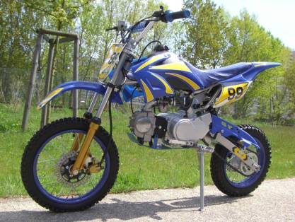 DIRT BIKE 125cc TORNADO PAS CHER